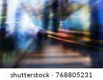 abstract business modern city... | Shutterstock . vector #768805231