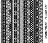 christmas seamless pattern....   Shutterstock . vector #768805429