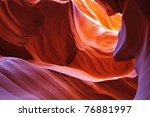 Scenic Color Slot Canyon...