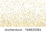 confetti isolated on white... | Shutterstock .eps vector #768820381