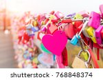 the love key ceremony at n... | Shutterstock . vector #768848374