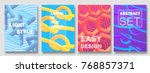 abstract colorful covers set....