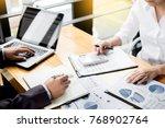 administrator business man... | Shutterstock . vector #768902764