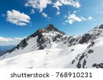 snow capped mountains | Shutterstock . vector #768910231