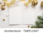 Mockup Christmas Greeting Card...