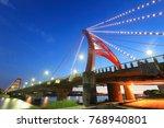 juigang bridge in hsinchu ... | Shutterstock . vector #768940801