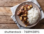 philippine food  salpicao beef... | Shutterstock . vector #768943891