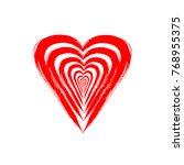 heart. artistic design of the... | Shutterstock .eps vector #768955375