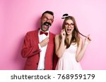we always have a fun together   | Shutterstock . vector #768959179
