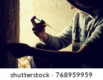 drugs concept. disease concept. ... | Shutterstock . vector #768959959