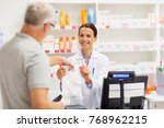 medicine  pharmaceutics  health ... | Shutterstock . vector #768962215
