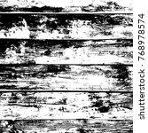 grunge old wood black cover... | Shutterstock .eps vector #768978574