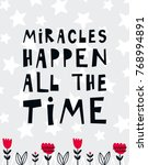 vector poster with phrase ... | Shutterstock .eps vector #768994891
