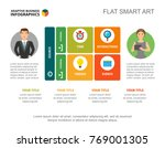 business strategy slide template | Shutterstock .eps vector #769001305