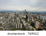 seattle downtown view | Shutterstock . vector #769012