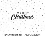 merry christmas stars vector... | Shutterstock .eps vector #769023304