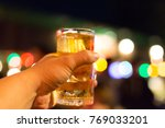 party  holidays  celebration ... | Shutterstock . vector #769033201