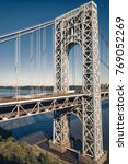 george washington bridge  new... | Shutterstock . vector #769052269