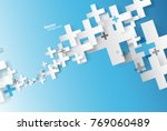 abstract background created... | Shutterstock .eps vector #769060489