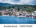 volos  greece  july 25  2014 ... | Shutterstock . vector #769074469