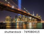 tribute in light with the... | Shutterstock . vector #769080415