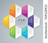 infographics design vector and...   Shutterstock .eps vector #769120921