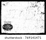 scratch grunge urban background.... | Shutterstock .eps vector #769141471