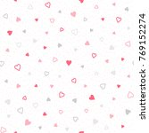 color seamless pattern. pink... | Shutterstock .eps vector #769152274