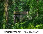 ruins in a forest in sintra ... | Shutterstock . vector #769160869