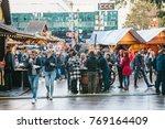 berlin  october 03  2017 ... | Shutterstock . vector #769164409