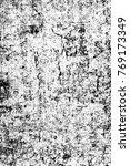 grunge black and white pattern. ... | Shutterstock . vector #769173349