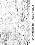 grunge black and white pattern. ... | Shutterstock . vector #769174075