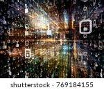 digital city series. visually...   Shutterstock . vector #769184155