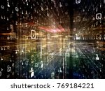 digital city series....   Shutterstock . vector #769184221