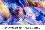 color in motion series. design... | Shutterstock . vector #769184869