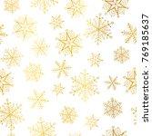 vector golden and white...   Shutterstock .eps vector #769185637