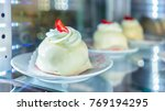 White Chocolate Dessert In The...