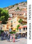 positano  italy   september 30  ... | Shutterstock . vector #769201501