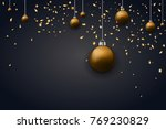 happy new year 2018 background... | Shutterstock .eps vector #769230829