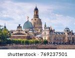 the ancient city of dresden ... | Shutterstock . vector #769237501