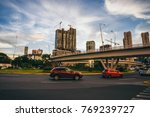 mexico   september 25   cars in ... | Shutterstock . vector #769239727