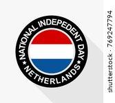national indepedent day of... | Shutterstock .eps vector #769247794
