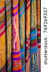 local handmade textile . photo... | Shutterstock . vector #769269337