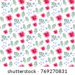 tropical seamless pattern with...   Shutterstock .eps vector #769270831
