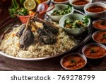 a set of lamb mandy rice  a... | Shutterstock . vector #769278799