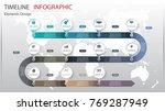 vector abstract element... | Shutterstock .eps vector #769287949