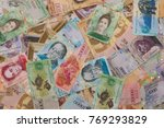 collection of sparse venezuelan ... | Shutterstock . vector #769293829