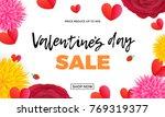 valentines day sale design...