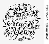 vector illustration abstract... | Shutterstock .eps vector #769337311