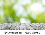 spring background table | Shutterstock . vector #769348957